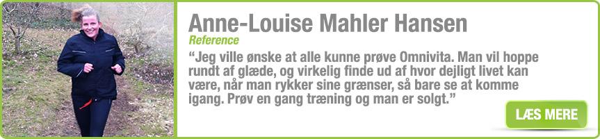 Anne Louise Mahler-Hansen